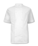 Lightweight Short Sleeve Chefs Jacket (Sizes S - 3XL)